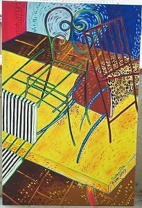 Paintings Painting - Balance 2 by Marilena Pilla