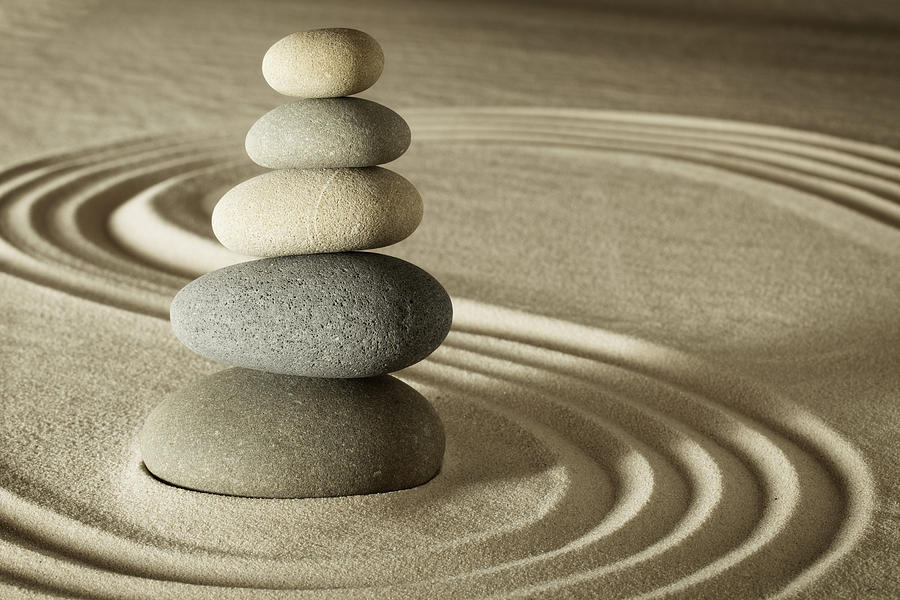 Balance And Harmony In Zen Photograph By Dirk Ercken