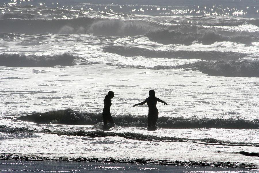 Ocean Photograph - Balance by Holly Ethan