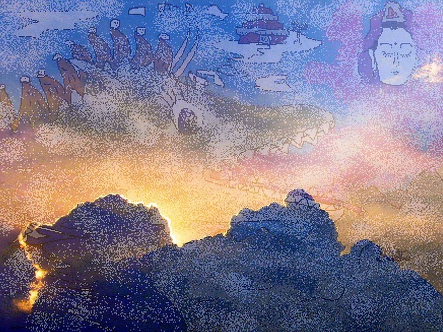 Sky Digital Art - Balance by Kathy Daxon