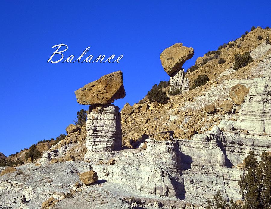Zen Photograph - Balance by Lou  Novick