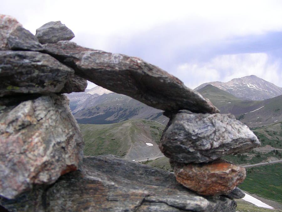 Mountain Photograph - Balance by Peter  McIntosh