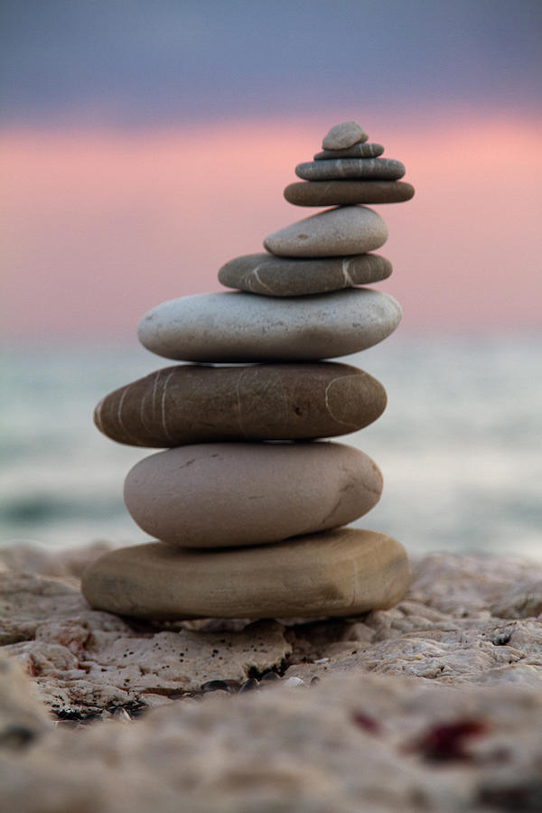 Arrangement Photograph - Balance by Stelios Kleanthous