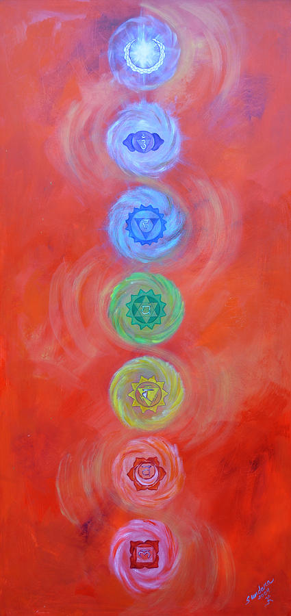 Chakra Painting - Balance by Sundara Fawn