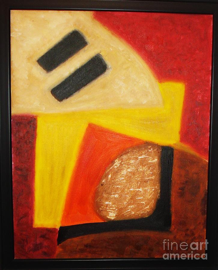 Oil Painting Painting - Balance by Yael VanGruber