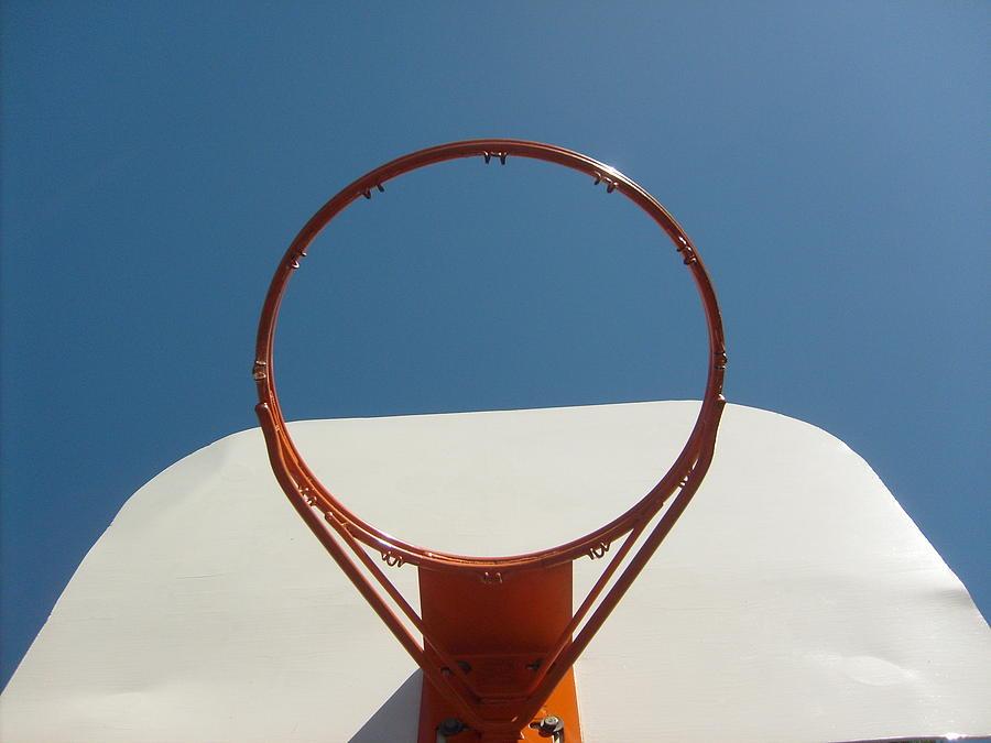 Basketball Hoop Photograph - Balance1 by Brandon Rogers