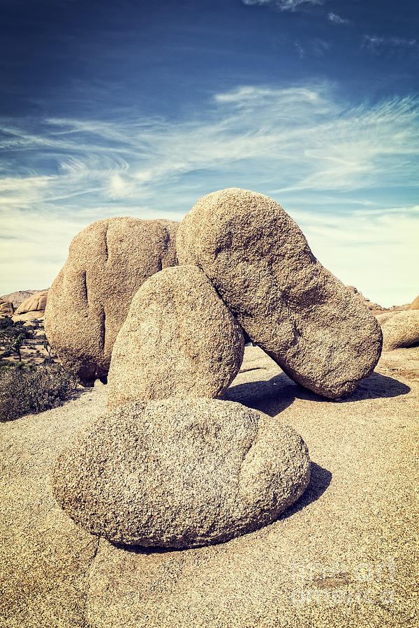 Balanced Boulders in Joshua Tree National Park by Bryan Mullennix