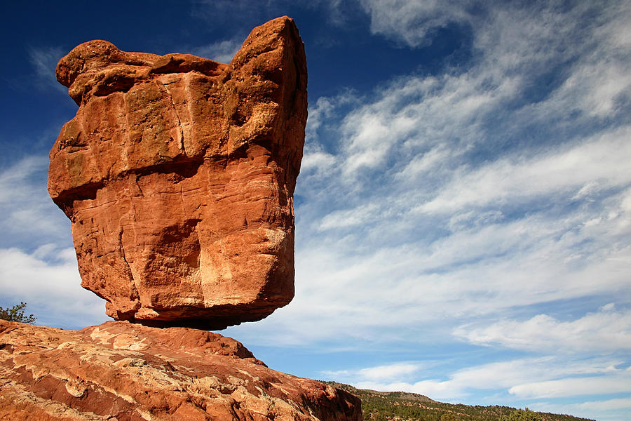 Balanced Rock At Garden Of The Gods