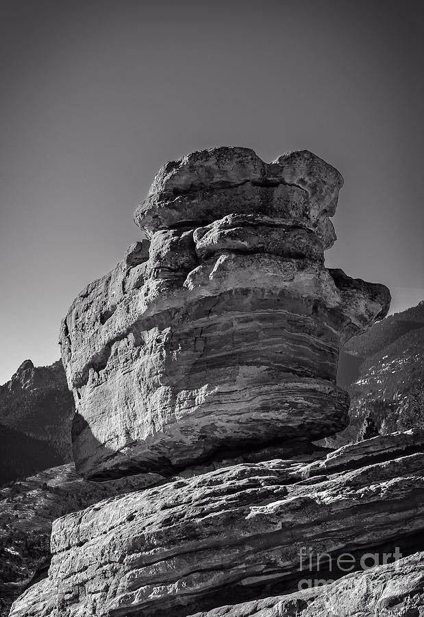 Adventure Photograph - Balanced Rock by Charles Dobbs