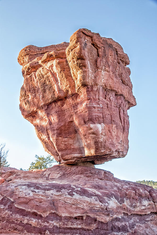 Balanced Rock In Garden Of The Gods Colorado Springs