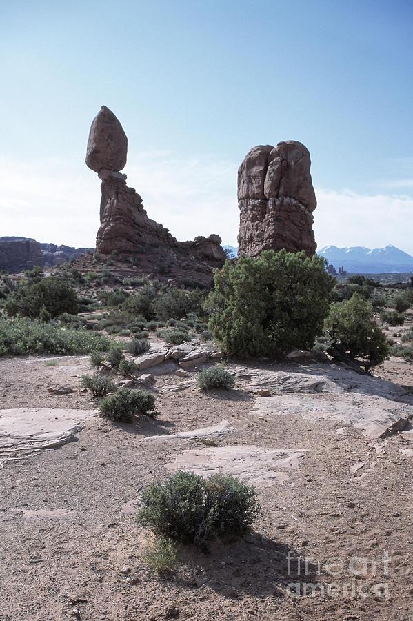 Balanced Photograph - Balanced Rock Utah by Kim Lessel