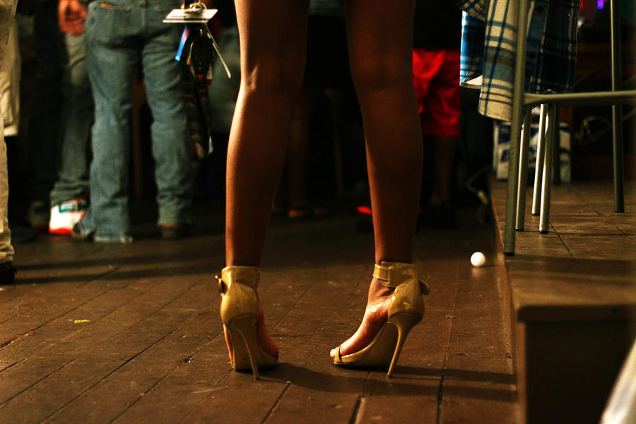 Heels Photograph - Balancing Act by Lorna Ziehm