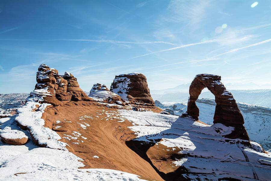 Delicate Arch Wide Photograph