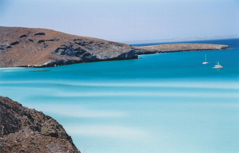 Blue Photograph - Balandra Bay by Kathy Schumann
