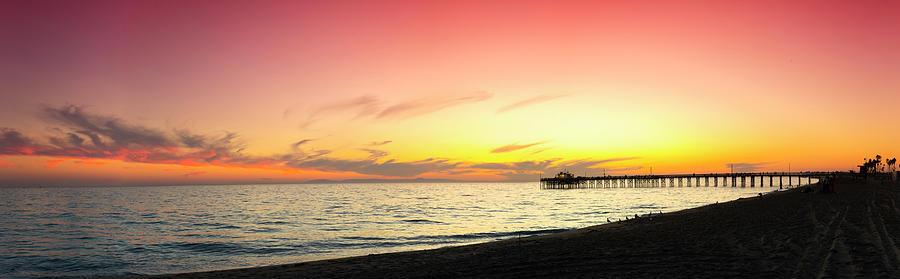 California Photograph - Balboa Beach Pastels by Sean Davey
