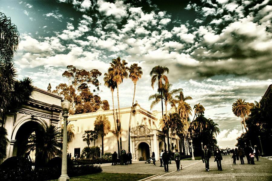 Balboa Pyrography - Balboa Park by Frank Garciarubio