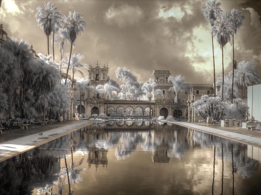 Balboa Photograph - Balboa Park Infrared by Jane Linders