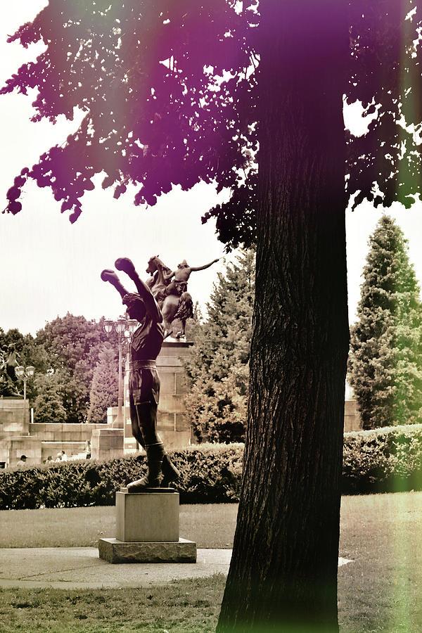 Philadelphia Photograph - Rocky Balboas Moment by JAMART Photography