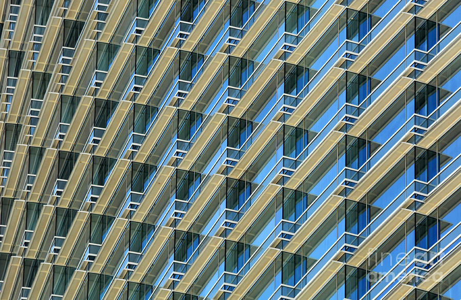 Architecture Photograph - Balconies by Dan Holm