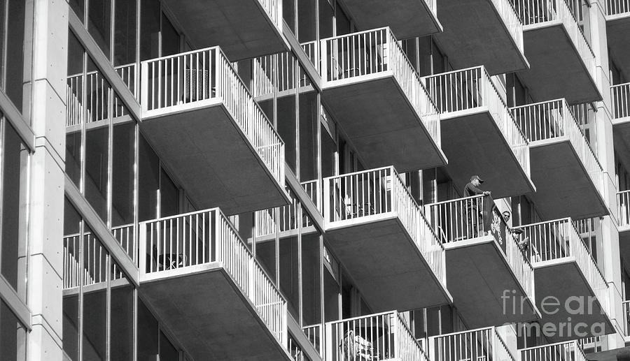 Balcony Photograph - Balcony Colony by WaLdEmAr BoRrErO
