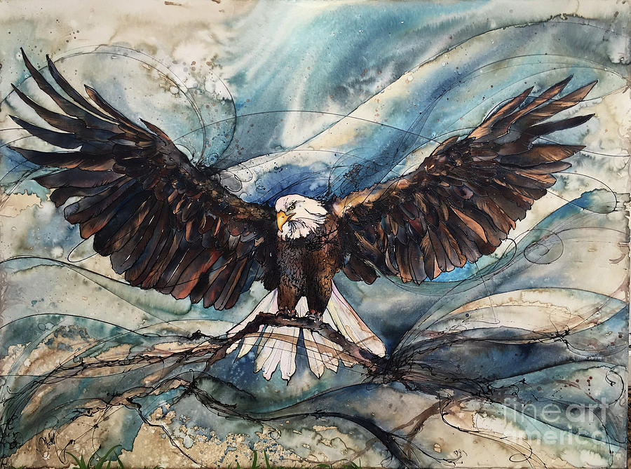 Bald Eagle by Christy Freeman Stark