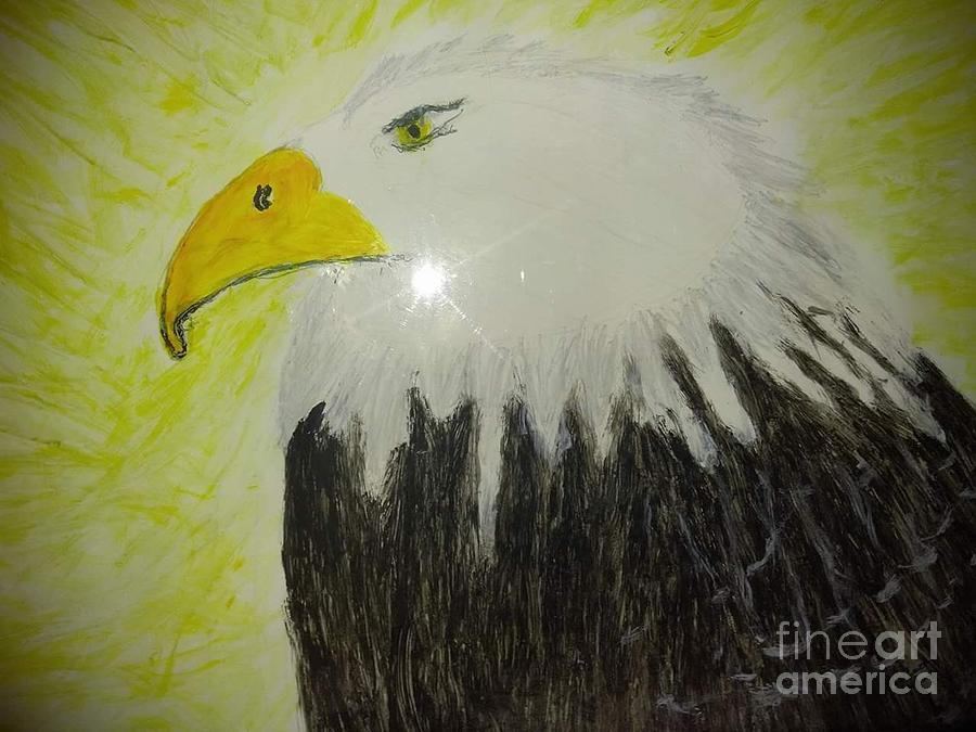 Bald eagle by Joyce A Rogers