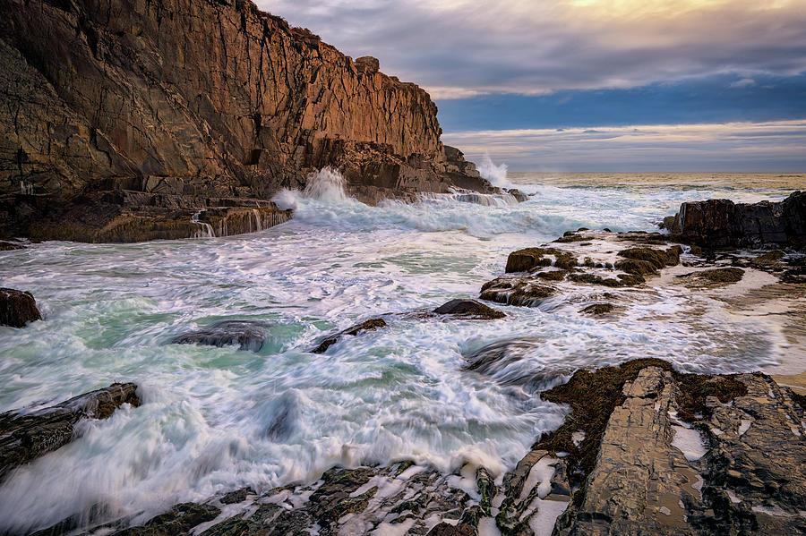 Cliff Photograph - Bald Head Cliff by Rick Berk