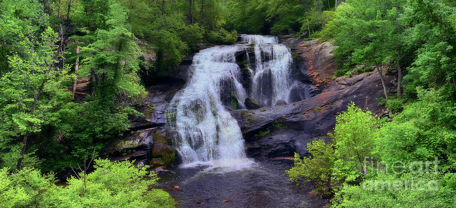 Bald River Falls, Tenn. by Teri Brown