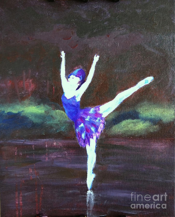 Dance Painting - Balerina by Jamie Hartley