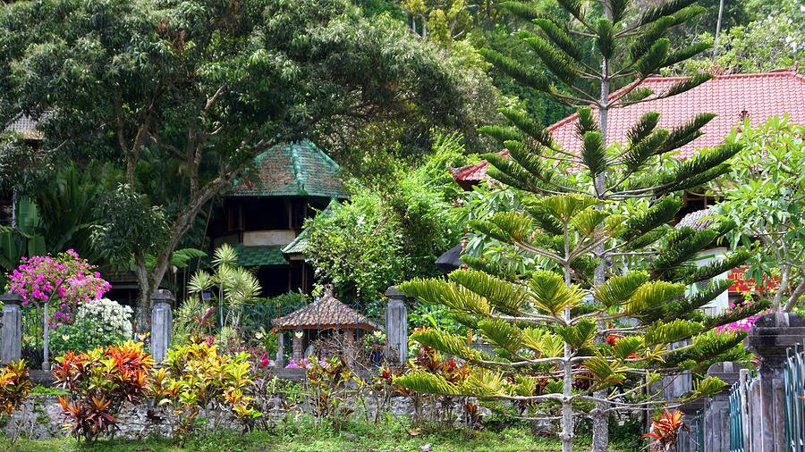 Bali Gardens Photograph by Todd Hummel