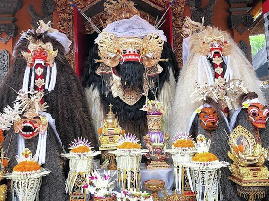 Barong Photograph - Balinese Life - Mlaspas Ida Sasuhunan by Arya Swadharma