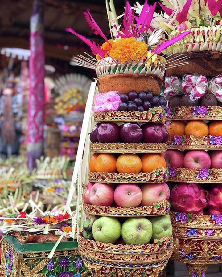 Balinese Life - Penyineban Piodalan Photograph by Arya Swadharma