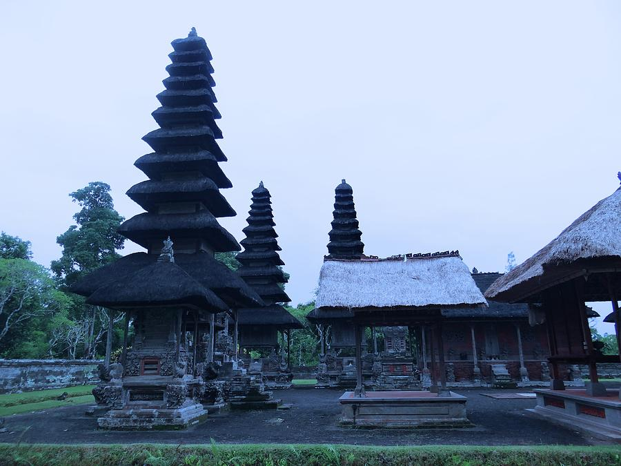Unschooling Photograph - Balinese Temple On Side by Exploramum Exploramum