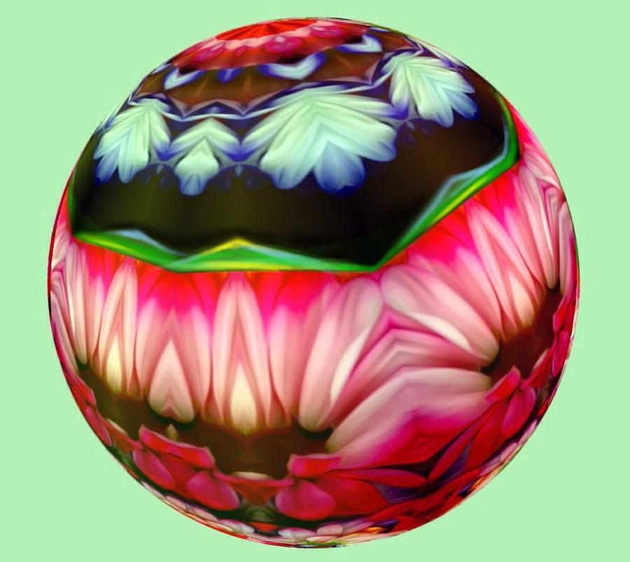 Surrealism Digital Art - Ball by Jack Monninger