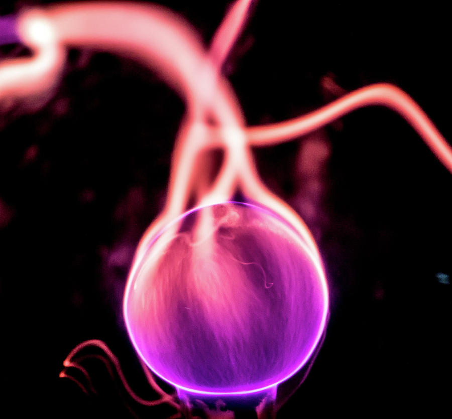 Ball of Plasma by Tyson Kinnison