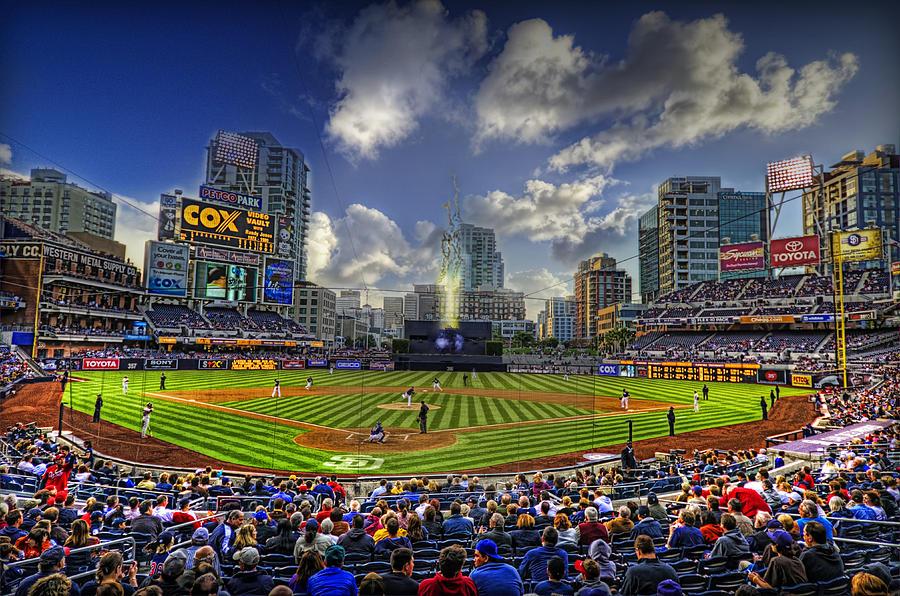 Baseball Photograph - Ball Park by Corey Gautereaux