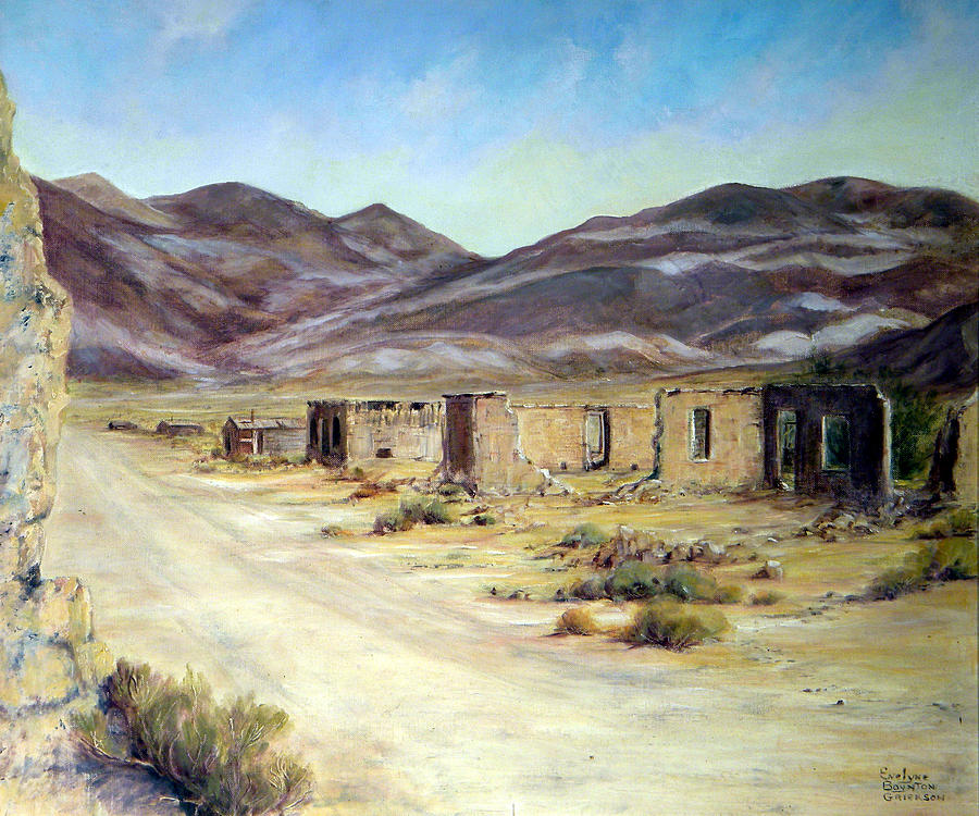 West Painting - Ballarat California by Evelyne Boynton Grierson