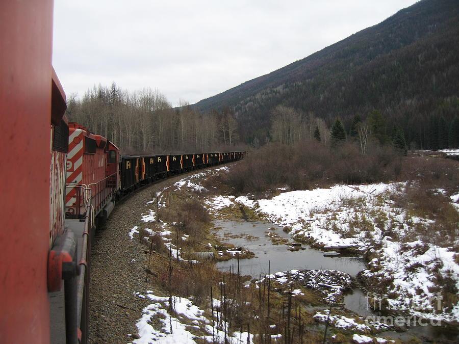 Ballast Train Photograph by Seon-Jeong Kim