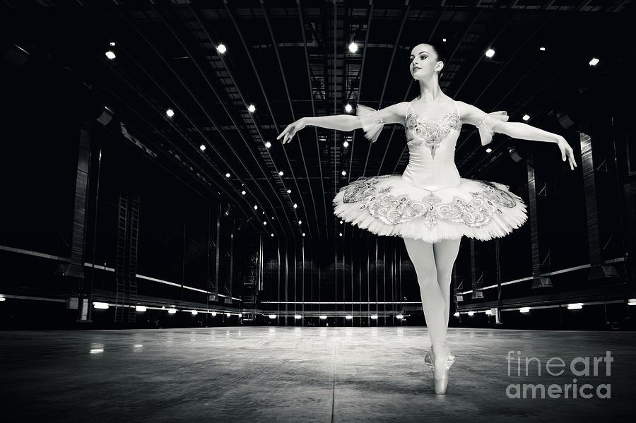 Ballet Photograph - Ballerina by Dimitar Hristov