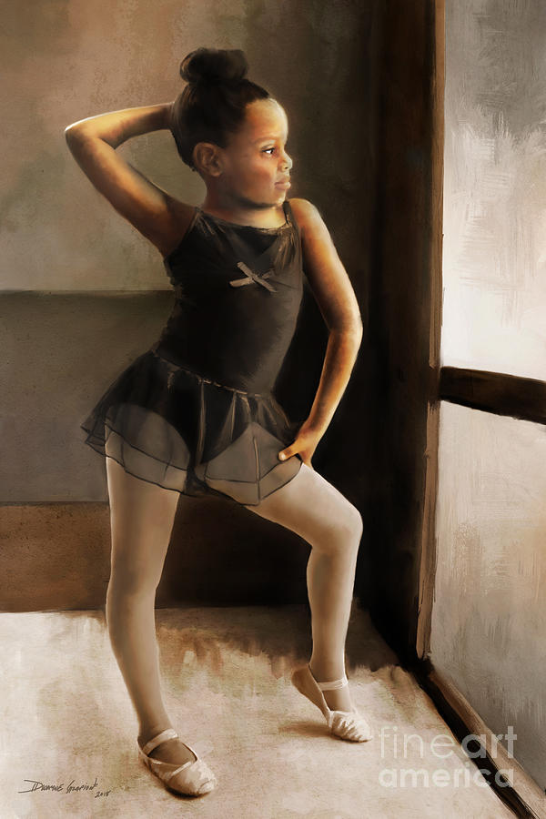 Ballerina by Dwayne Glapion