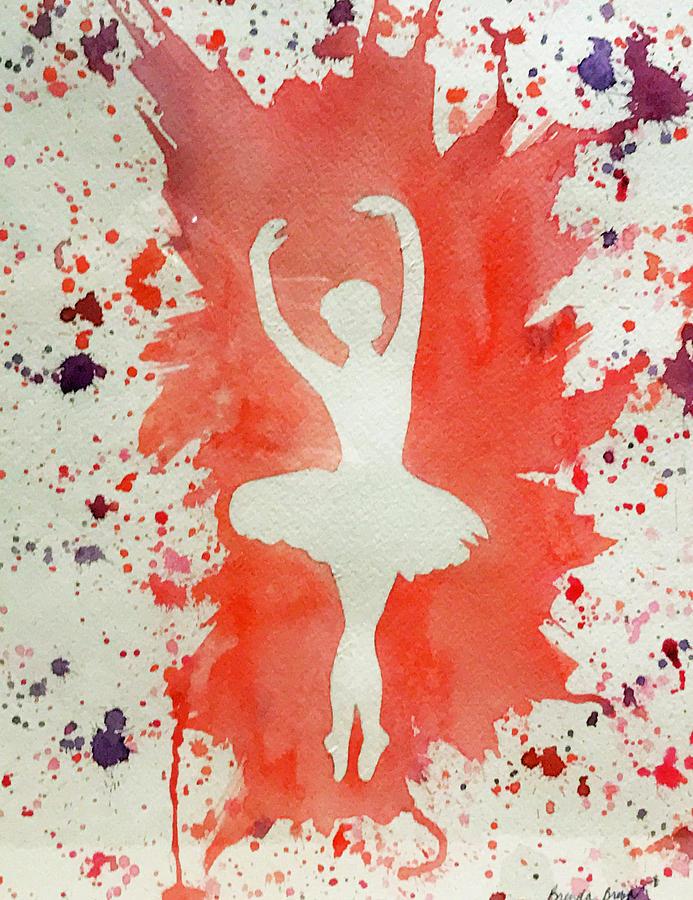 Ballerina Euphoria by Brenda Brown