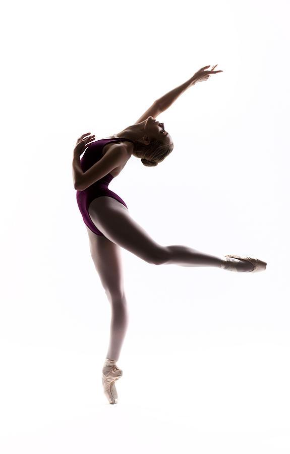 Ballerina Photograph - Ballerina Reach by Steve Williams