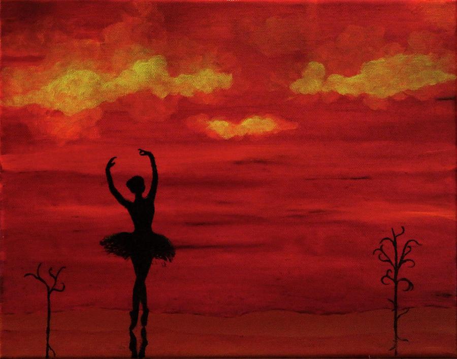 Ballerina Painting - Ballerina by Robert Marquiss