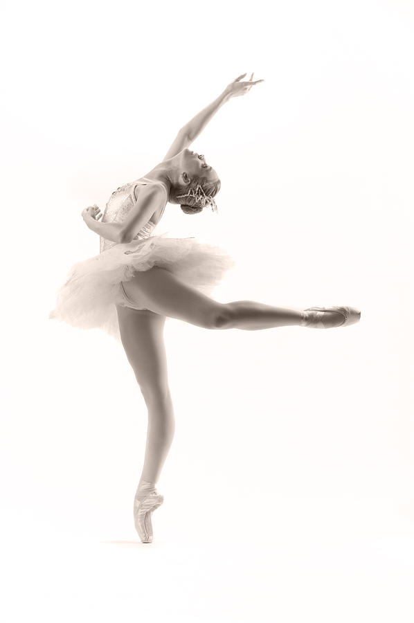 Ballerina Photograph - Ballerina by Steve Williams
