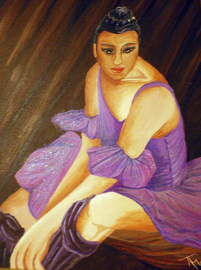 Ballet Painting - Ballerina by Tammera Malicki-Wong