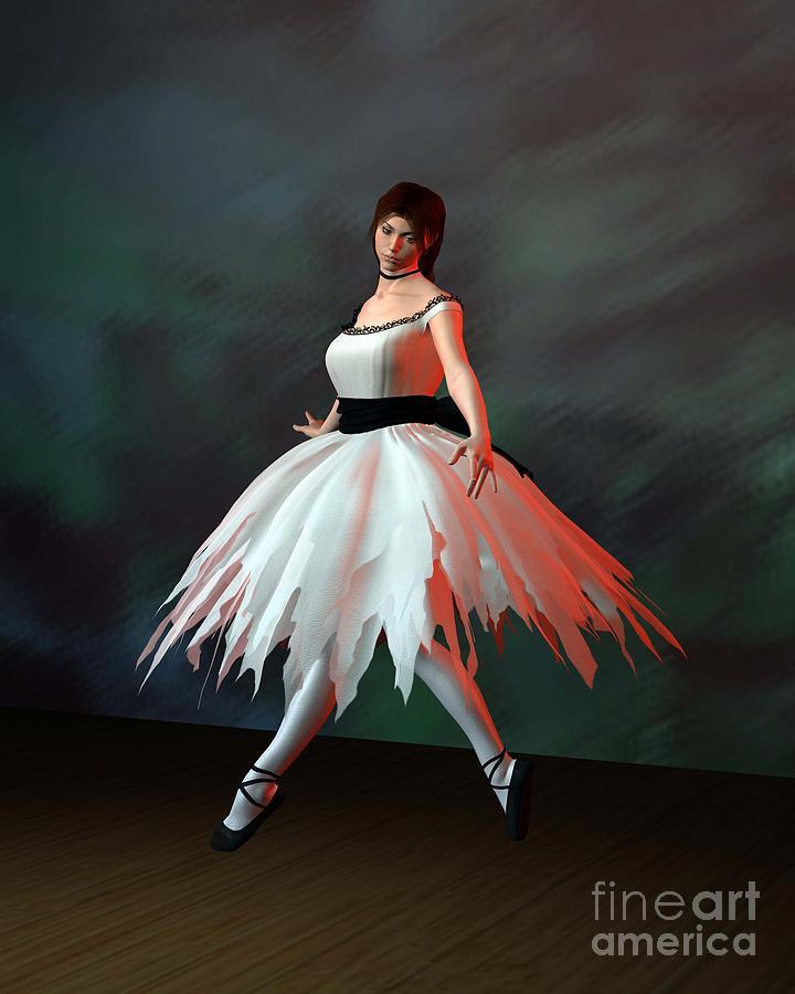 Ballet Dancer Digital Art