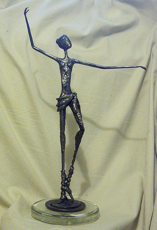 Ballet Dancer Sculpture by Ric Larson