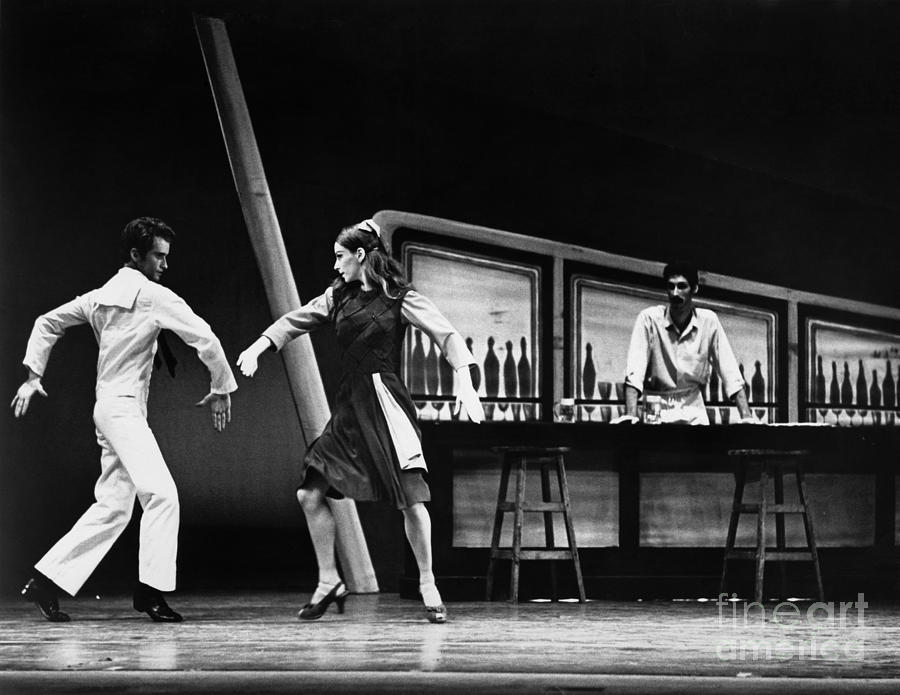 1970 Photograph - Ballet Fancy Free C1970 by Granger