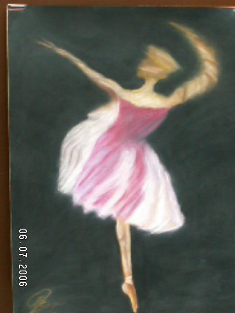 Ballet Painting by George Lenis