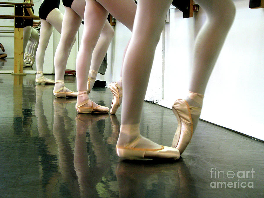 Ballet Photograph - Ballet In Studio by Chiara Costa